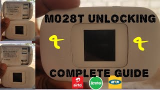 Unlocking Vodafone M028T  Complete Guide 100% working