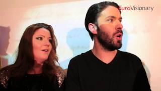 Eurovision Song Contest 2014 - Firelight - Coming Home - Malta - Launch of new version  + interview