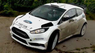 preview picture of video 'Elfyn Evans Test WRC Rallye Deutschland 2014 [HD] | Ford Fiesta RS WRC'