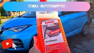 Sonax AutoShampoo test