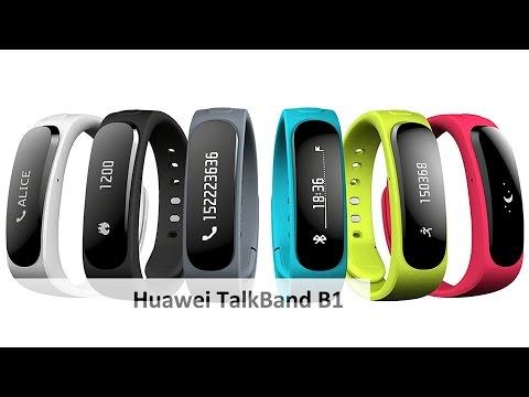 Huawei TalkBand B1 - Ein Fitness-Armband mit integriertem Headset im Test [Deutsch]