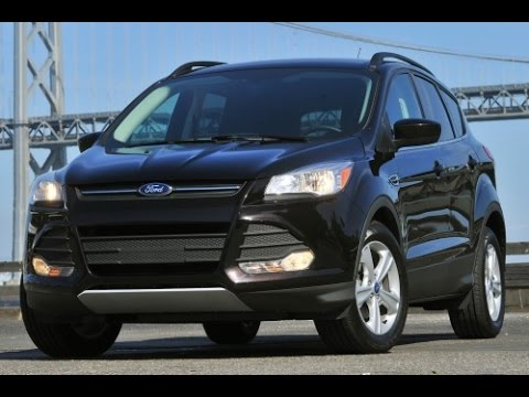 2015 Ford Escape Start Up and Review 2.0 L 4-Cylinder Turbo