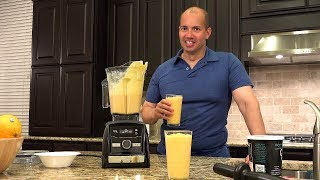 Vitamix A3300 Review, Unboxing, and Smoothie Test - in 4K UHD - by John D. Villarreal