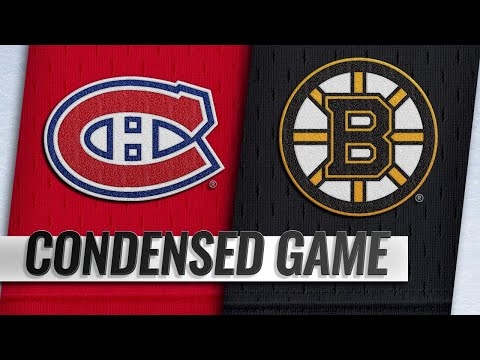 01/14/19 Condensed Game: Canadiens @ Bruins