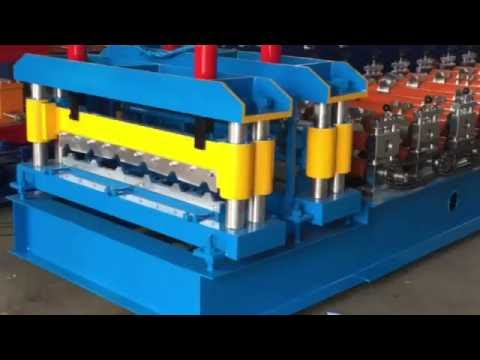 Double Layer Deck Roll Forming Machine