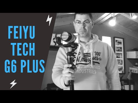 Feiyu Tech G6P G6 Plus | setup and vlog test - banggood.com