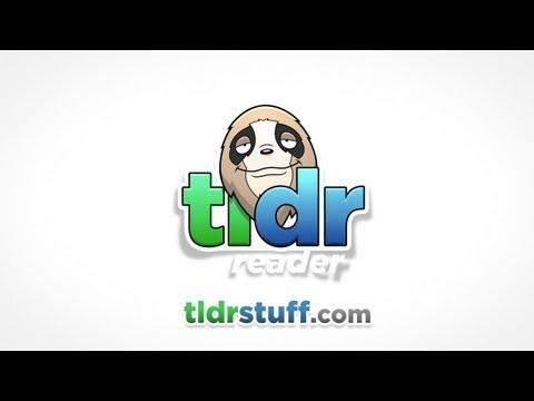 Video of TLDR Reader