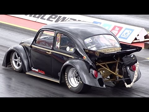 World Record 1/4 Mile Electric Car - Black Current III - 9.37 @ 147mph