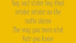 Train - Hey, Soul Sister (Lyrics)