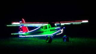 preview picture of video 'FUN CUB Night flight -  september 9, 2011 - Paduwat Françis AMCE ENGHIEN - Must see'