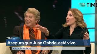 Juan Gabriel está vivo en el corazón de todos y físicamente, reafirma su ex manager