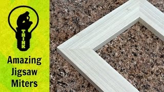 How to make a picture frame with a Jigsaw!