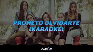 Prometo Olvidarte | Ventino | Piano Karaoke