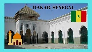 DAKAR: Stunning Grand Mosque 🕌 In DAKAR, Very Rare Interior Views!