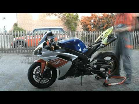 Yamaha R1 RN19 Umbau für die Rennstrecke