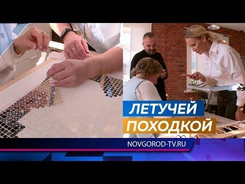 Ревизор Елена Летучая проинспектировала швейную фабрику в Крестцах