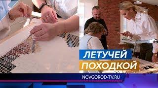 Елена Летучая посетила фабрику «Крестецкая строчка»