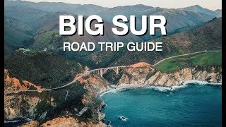 California Road Trip Itinerary (SAN FRANCISCO TO BIG SUR GUIDE)
