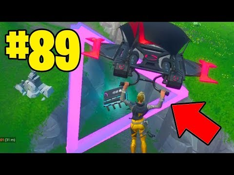 Fortnite Fortbyte 89 Location Accessible by flying Scarlet