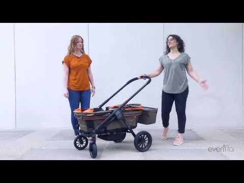 Evenflo Pivot Xplore™ All-Terrain Stroller Wagon | How To & Demo