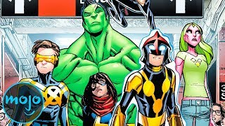 Top 10 Weirdest Superhero Teams You've Never Heard Of