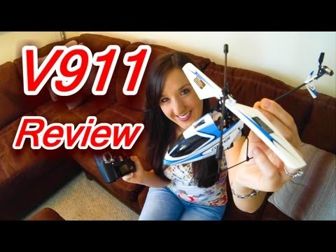 V911 Review – 2.4Ghz Mini 4 Channel RC Helicopter – Indoor/ Outdoor