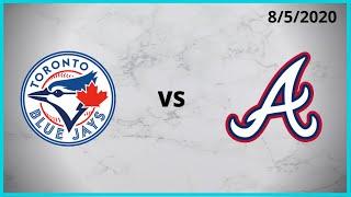 Toronto Blue Jays Condensed Game (8/5/2020) Atlanta Braves Condensed Game