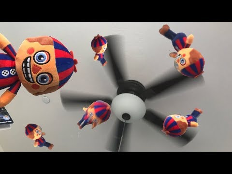 Throwing Balloon Boy at the Ceiling Fan (Plush Review)
