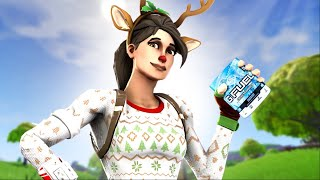 Drinking GFUEL did this to me in Fortnite