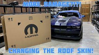 Rebuilding A Wrecked 2016 Dodge Hellcat Part 5