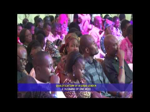 QUALIFICATIONSOF A SPIRITUAL LEADER 1 By Bro. Joshua Iginla
