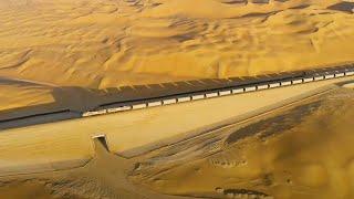 The $100 billion railway in the desert