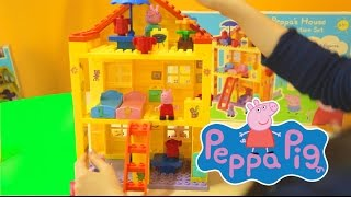 Peppa Pig - House Construction Set Mega Blocks