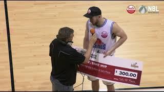 VIDEO - Former Shark Nick Kay wins Sal's MVP