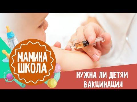Нужны ли детям прививки? Мамина школа. 16.09.2017