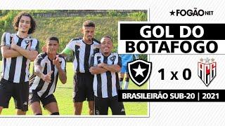 Botafogo 1 x 0 Atlético-GO | Gol de Juninho | Brasileirão Sub-20 2021