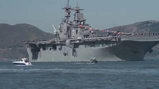 Парад кораблей США • Неделя Сан-Франциско-Флота 2017