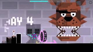 Geometry Dash Level: 5 Nights at Freddy