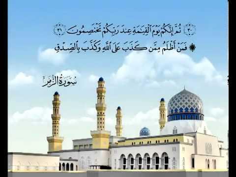 सुरा सूरतुज़् ज़ुमर<br>(सूरतुज़् ज़ुमर) - शेख़ / मुहम्मद अल-मिनशावी -