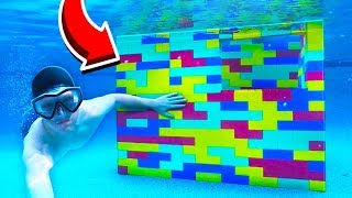 WORLD'S BIGGEST LEGO HOUSE UNDERWATER!