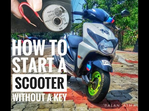 How to start a scooter without keys - joshcb7 - Video - 4Gswap org