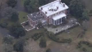 Отжатая dacha в Мэриленде, вид с вертолета.