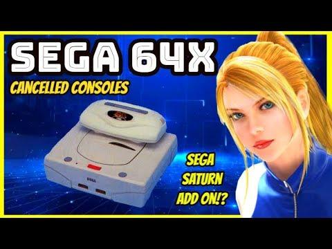 Sega 64X - Cancelled Console - Sega Saturn 32X Add On!?