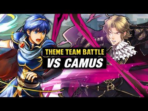 INFERNAL Camus GHB Vs. Marth & Shadow Dragon Units - Fire Emblem Heroes Theme Team Battle