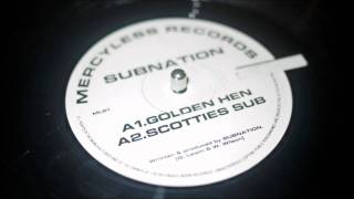 Subnation - Scotties Sub - (Scottie) - Mercyless Records MLS1 - (1993)