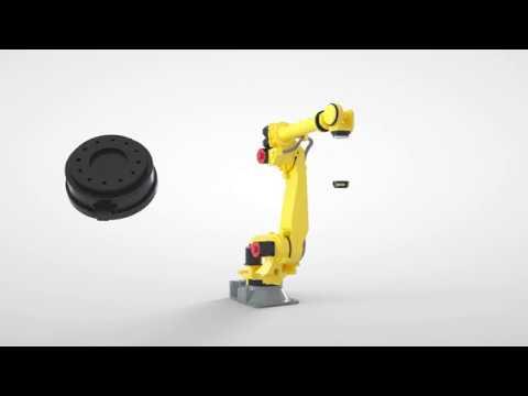 Intelligent robot accessories from FANUC - Force sensor