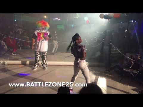 Nique Nique vs Lil Bosslady | OfficialTsquadTv | Tommy the Clown