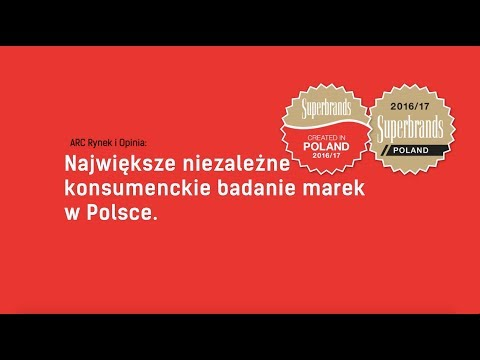 Poland Spot kinowy Superbrands 2017