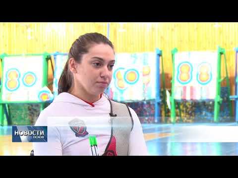 03.04.2018 # Лучница Маргарита Сидоренко готовится к олимпиаде в Великих Луках