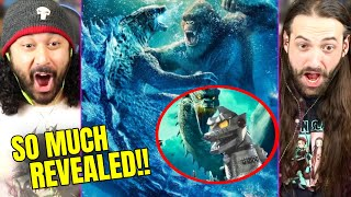 Godzilla Vs Kong | FIRST LOOK AT MECHAGODZILLA & Why Godzilla Goes Bad REVEALED - REACTION!! (GVK) by The Reel Rejects